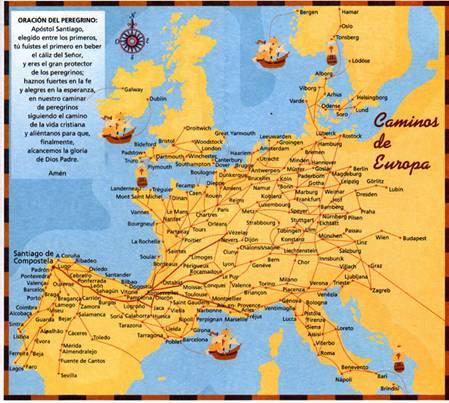 route spanje vanuit nederland